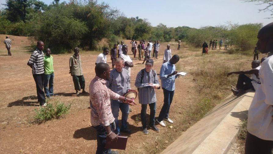 Projet d'irrigation à Toémighin